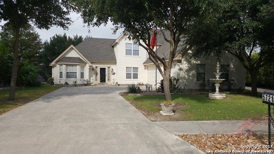 Cibolo Single Family Home For Sale: 5721 Fairways Dr