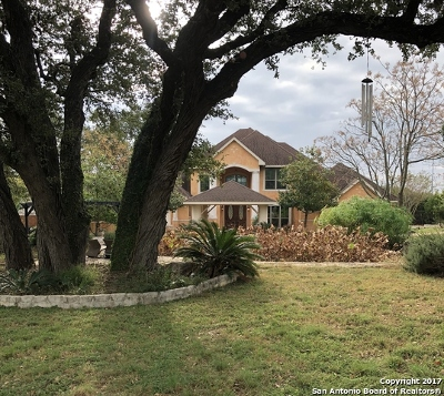Bulverde Single Family Home For Sale: 3055 Wild Valley Dr