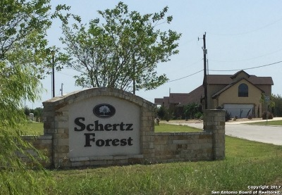 Schertz Residential Lots & Land For Sale: 12504 Will Cloudsley