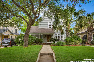 San Antonio Single Family Home Back on Market: 133 E Rosewood Ave