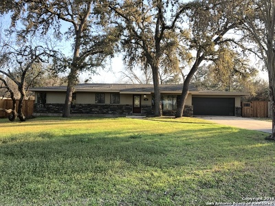 San Antonio Single Family Home For Sale: 306 Forrest Hill Dr