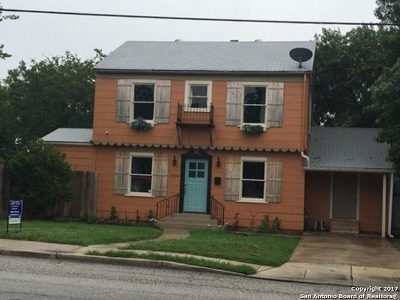 San Antonio Single Family Home Back on Market: 1430 Steves Ave
