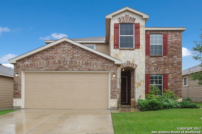 San Antonio Single Family Home For Sale: 27519 Lasso Bnd