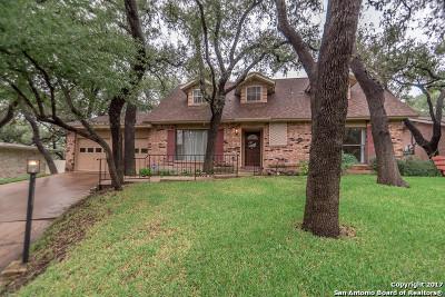 San Antonio Single Family Home Price Change: 10611 Cedar Elm Dr