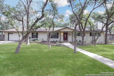 Hollywood Park Single Family Home Price Change: 122 Canyon Creek Dr