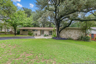 San Antonio Single Family Home For Sale: 10910 Cedar Elm Dr