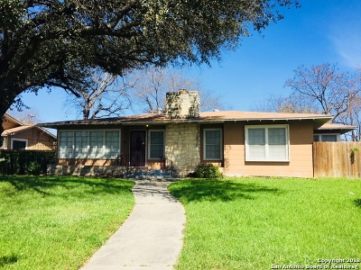 Single Family Home For Sale: 2601 W Kings Hwy
