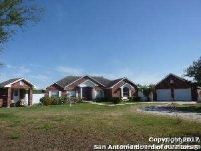 Atascosa County Single Family Home Price Change: 1450 Coble Rd