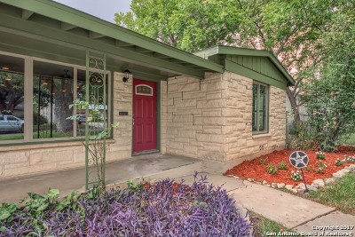 Bexar County Single Family Home Price Change: 327 Beverly Dr