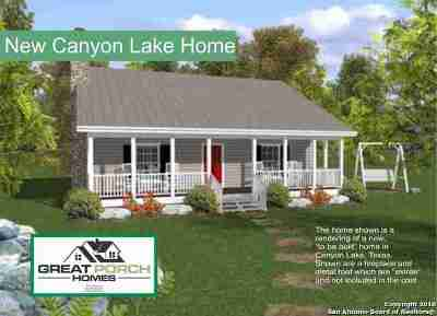 Canyon Lake Single Family Home For Sale: 454 Canyon Edge