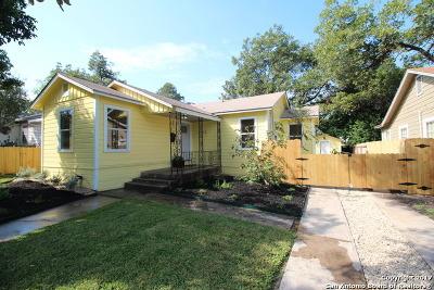 San Antonio Single Family Home Back on Market: 1323 W Elsmere Pl