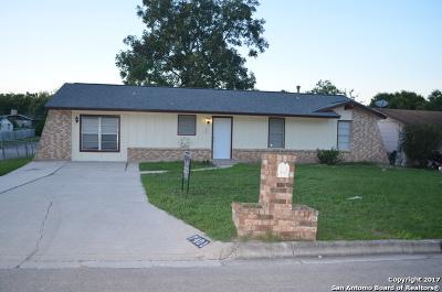 Live Oak Single Family Home For Sale: 7401 Sage Oak St