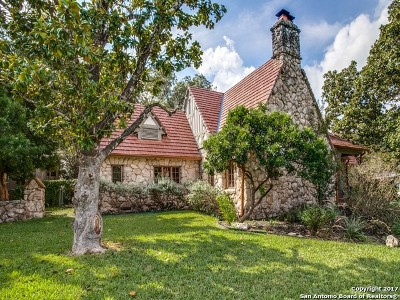 San Antonio Single Family Home Back on Market: 130 W Lullwood Ave