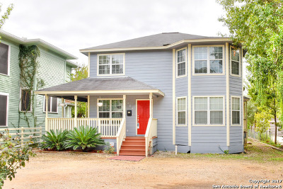 San Antonio Single Family Home Back on Market: 424 Rigsby Ave