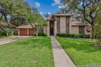 Bexar County Single Family Home Price Change: 12902 Kings Forest St