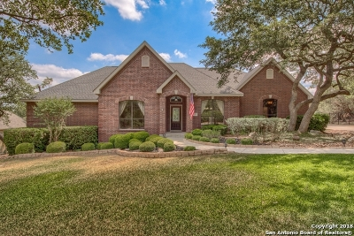 San Antonio Single Family Home For Sale: 25111 Player Oaks