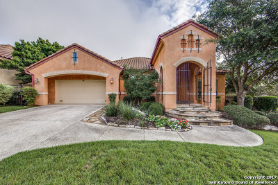 San Antonio Single Family Home Back on Market: 18202 Girasole