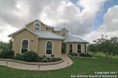 Hondo Single Family Home New: 880 County Road 367