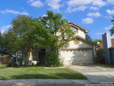 Bexar County, Comal County, Guadalupe County Single Family Home For Sale: 8118 Ludlow Trl