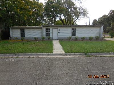 Hondo Single Family Home New: 2909 Avenue I