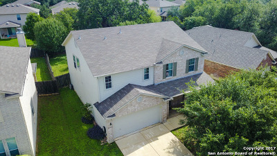 San Antonio Single Family Home New: 20830 Coral Spur