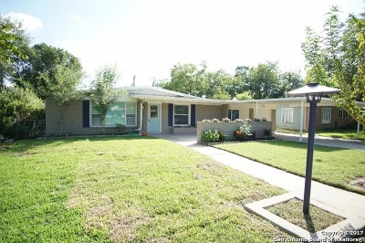 San Antonio TX Single Family Home Back on Market: $229,900