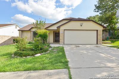 Schertz Single Family Home New: 1140 Dimrock