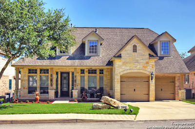 San Antonio Single Family Home New: 25914 Torena Loop