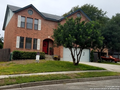 Schertz Single Family Home New: 3905 William Scarbrough