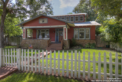 New Braunfels Single Family Home For Sale: 292 S Gilbert Ave
