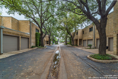Bexar County Condo/Townhouse For Sale: 8123 New Braunfels Ave #D
