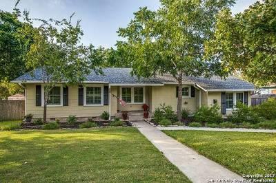 Terrell Hills Single Family Home New: 1114 Garraty Rd