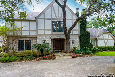 San Antonio Single Family Home New: 13702 Bluffmont