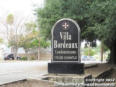 San Antonio Condo/Townhouse Back on Market: 170 De Chantle Rd #104