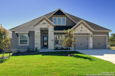 Comal County Single Family Home New: 538 Singing Creek