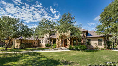 Fair Oaks Ranch Single Family Home New: 19 Stone Terrace