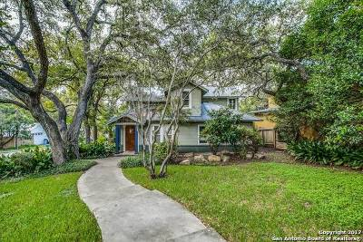Alamo Heights Single Family Home For Sale: 602 Lamont Ave