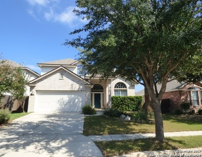 Helotes Single Family Home New: 8839 Firebaugh Dr