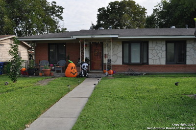 San Antonio TX Single Family Home Back on Market: $120,000