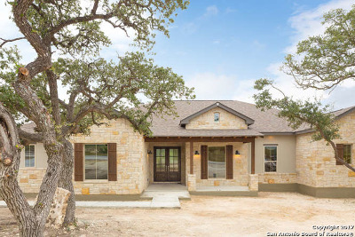 Canyon Lake Single Family Home New: 1483 Red Cloud Peak