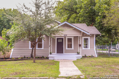 San Antonio Single Family Home New: 1638 Santa Monica