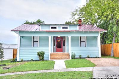 San Antonio Single Family Home Price Change: 1121 E Crockett St
