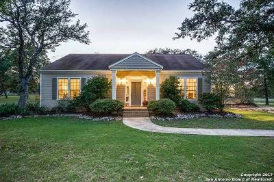 Boerne Single Family Home New: 736 Cypress Bend Dr
