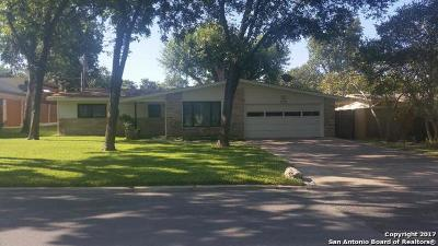 San Antonio Single Family Home New: 318 Calumet Pl