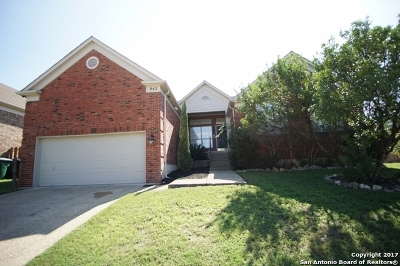 San Antonio Single Family Home New: 942 Lightstone Dr