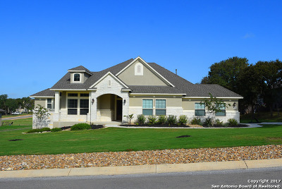 Comal County Single Family Home New: 8307 Shining Elk