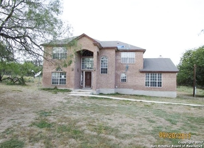 Atascosa County Single Family Home New: 475 Mary Ann Dr