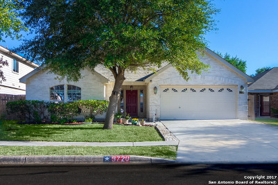 Bexar County Single Family Home New: 9720 Appellate Rise