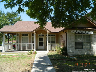 Bexar County, Comal County, Guadalupe County Single Family Home New: 1019 Pasadena