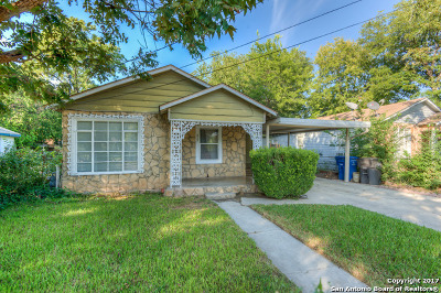 San Antonio Single Family Home Back on Market: 827 Angela St